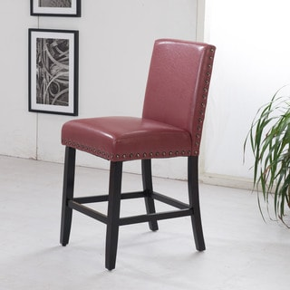 Sunpan 5west Citizen Bonded Leather Counter Stool Free