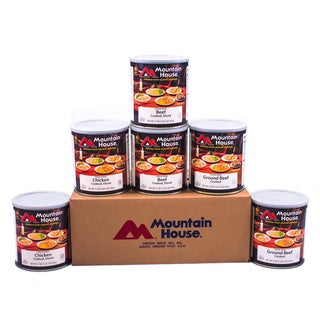 Mountain House Real Freeze-dried Meats Variety Kit (Pack of 6)