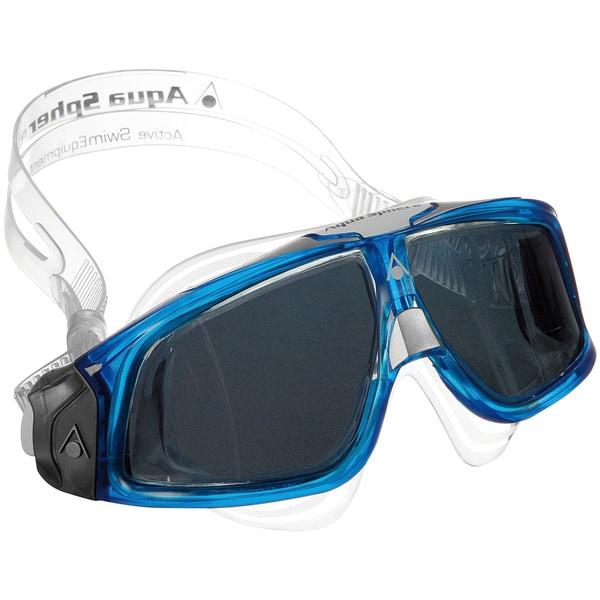 Seal Blue/ Smoke Lens Underwater Goggles