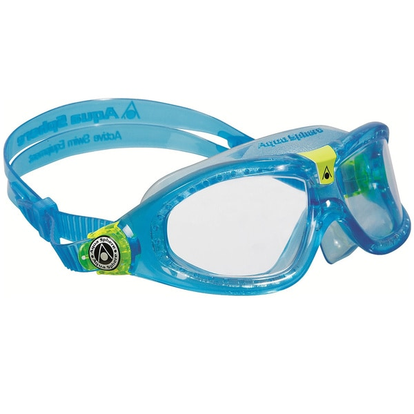 Seal Blue/ Clear Kid's Underwater Goggles