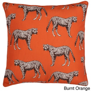 Cheetah Reversible Throw Pillow