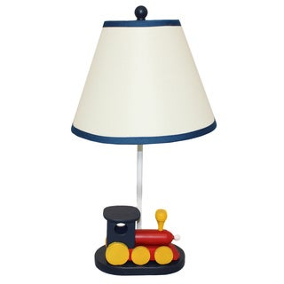 Casa Cortes 'Choo Choo Train' 21-inch Table Lamp