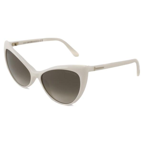 Shop Tom Ford Women's TF0303 Anastasia Cat-Eye Sunglasses