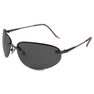 Alta Vision Men's/ Unisex Laguna Polarized/ Wrap Sunglasses