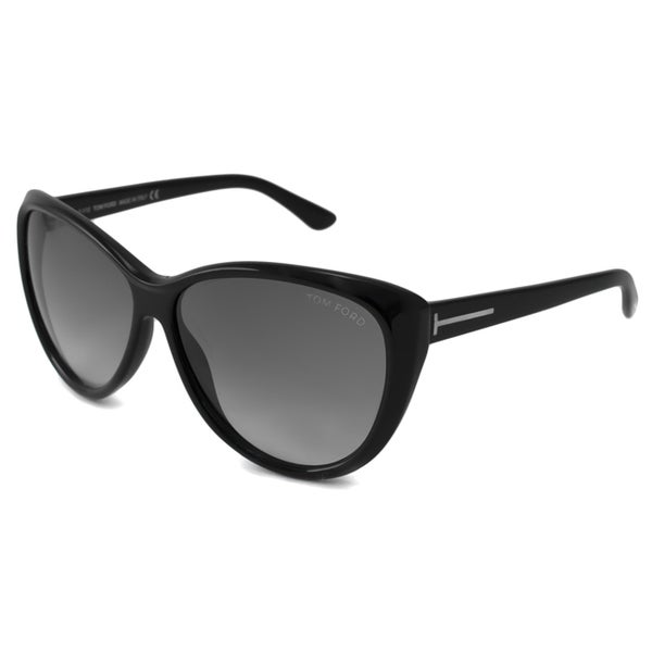 e853b4aa263f Shop Tom Ford Women s TF0230 Malin Cat-Eye Sunglasses - Free Shipping Today  - Overstock - 8774612