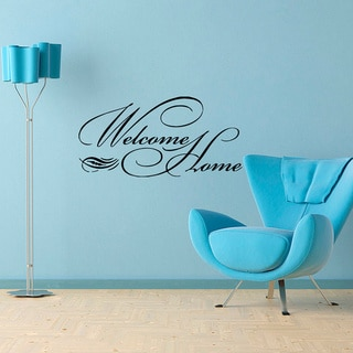 'Welcome Home' Vinyl Wall Decal