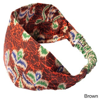 Women's Printed Maya's Summer Bali Yoga Headband (Indonesia)