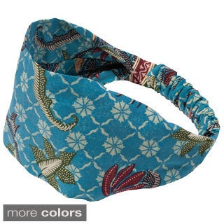 Women's Printed Abbey's Summer Bali Yoga Headband (Indonesia)
