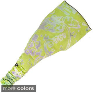 Handmade Women's Printed Summer Bali Yoga Headband (Indonesia)