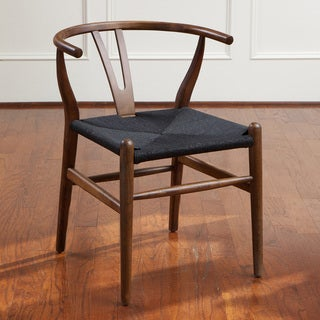 Felix Wood Black Accent Chair by Christopher Knight Home