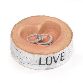 Hortense B. Hewitt Rustic Love Ring Bowl