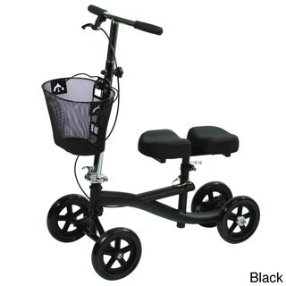Roscoe Medical Deluxe Knee Scooter Walker (3 options available)