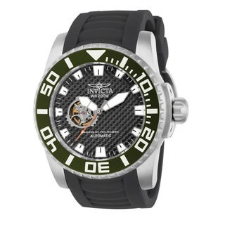 Invicta Men's Black Pro Diver Automatic 14679 Skeleton Watch