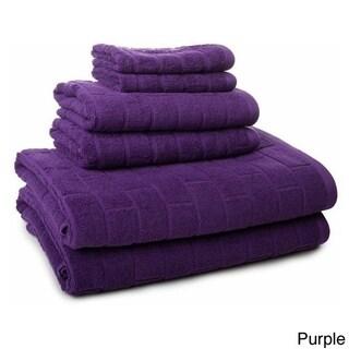 100-Percent Cotton 6-Piece Tiles Towel Set