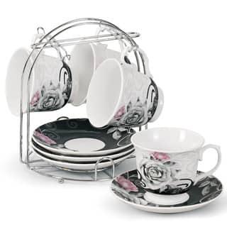 Porcelain Coffee/ Tea 9-piece Set on Metal Stand|https://ak1.ostkcdn.com/images/products/8774997/Porcelain-Coffee-Tea-9-piece-Set-on-Metal-Stand-P16015213.jpg?impolicy=medium