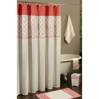 Sherry Kline Romance Shower Curtain with Hook Set