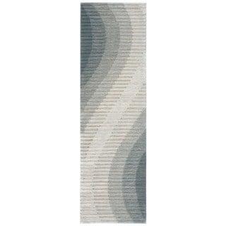 Joseph Abboud Mulholland Aqua Area Rug by Nourison (2'3 x 8')