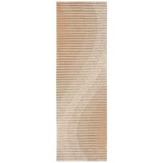 Joseph Abboud Mulholland Sand Area Rug by Nourison (2'3 x 8')