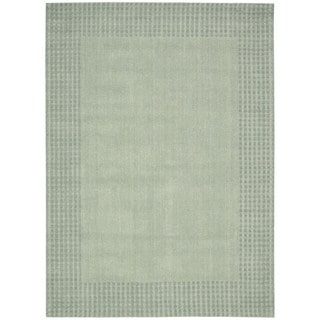 kathy ireland Cottage Grove Mist Area Rug by Nourison (2'3 x 7'6)
