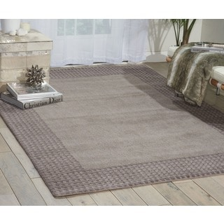 kathy ireland Cottage Grove Steel Area Rug by Nourison (2'3 x 7'6)