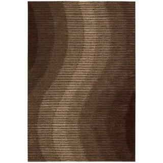 Joseph Abboud Mulholland Chocolate Area Rug by Nourison (5' x 7'6)