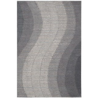 Joseph Abboud Mulholland Grey Area Rug by Nourison (8' x 10'6)