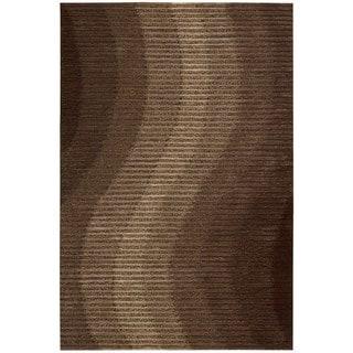 Joseph Abboud Mulholland Chocolate Area Rug by Nourison (8' x 10'6)
