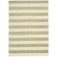 "Barclay Butera Ripple Sage Area Rug by Nourison - 5'6"" x 7'5""/Surplus"