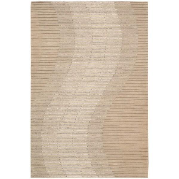 Joseph Abboud Mulholland Sand Area Rug by Nourison (8' x 10'6)