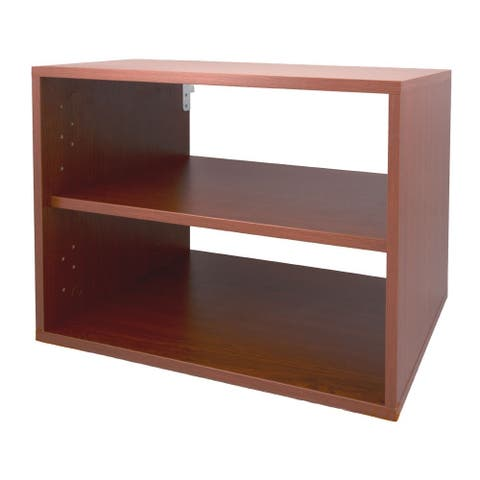 Organized Living freedomRail Modern Cherry O-Box 1 Shelf