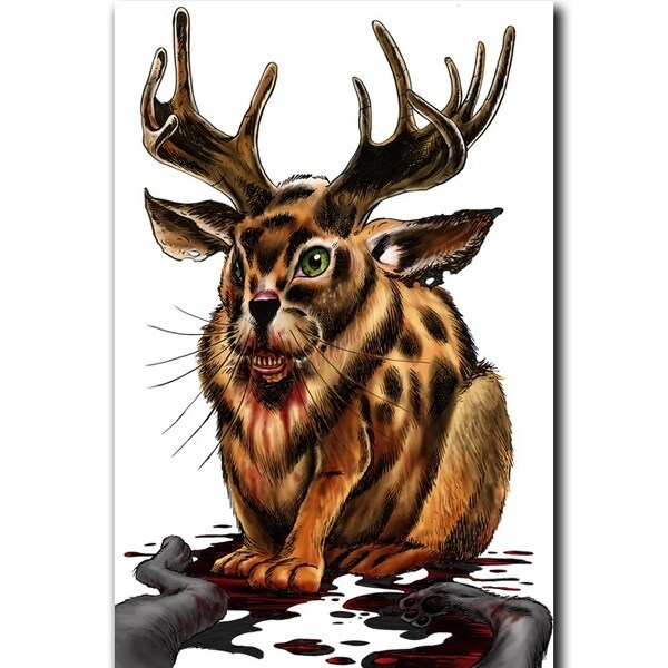 Birchwood Casey Darkotic Snack Rabbit Splatter Target (Pack of 8)
