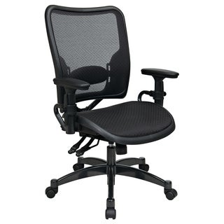 Professional Dual Function Ergonomics AirGrid Chair with Gunmetal Finish Accents