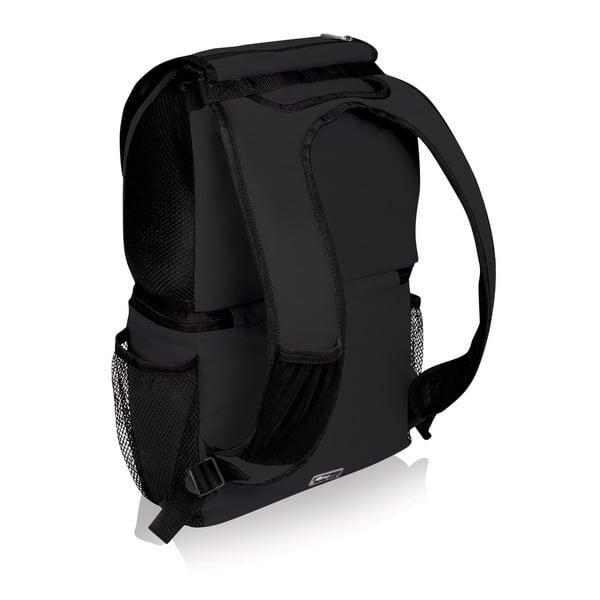 Black NCAA Virginia Tech Hokies Zuma Insulated Cooler Backpack