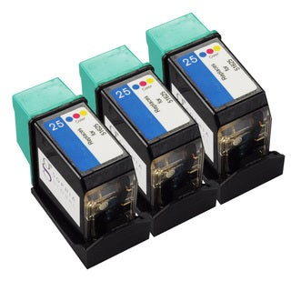 Sophia Global Remanufactured HP 25 Color Ink Cartridge Replacement (Set of 3)