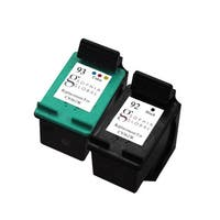 Sophia Global Remanufactured HP 92 and HP 93 Black/ Color Ink Cartridge Replacement (Set of 2)