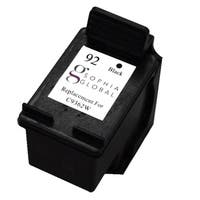 Sophia Global Remanufactured HP 92 Black Ink Cartridge Replacement