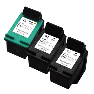 Sophia Global HP 92 and HP 93 Black/ Color Ink Cartridge Replacement (Remanufactured)