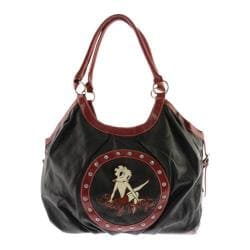 Women's Betty Boop Signature Product Betty Boop Bag BP1011 Black