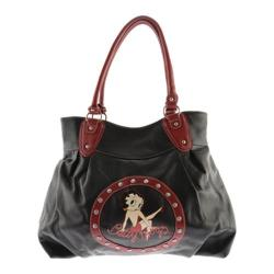 Women's Betty Boop Signature Product Betty Boop Bag BP1012 Black