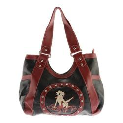 Women's Betty Boop Signature Product Betty Boop Bag BP1015 Black