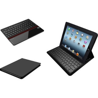 Adesso Compagno Air Bluetooth 3.0 Scissor-Switch Keyboard & Folio Cas