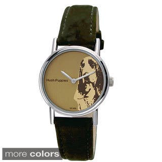 Hush Puppies Women's Grey Leather Watch|https://ak1.ostkcdn.com/images/products/8777198/Hush-Puppies-Womens-Grey-Leather-Watch-P16017019.jpg?impolicy=medium