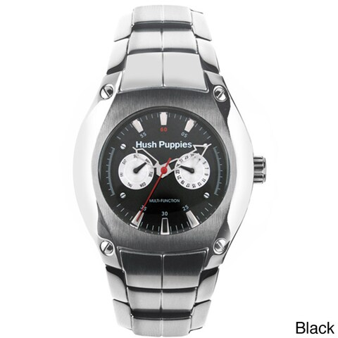 Hush Puppies Men's Day Date Stainless Steel Watch