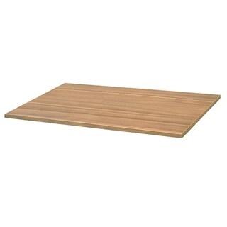 Organized Living freedomRail Cypress Live 48x8-inch Wood Shelf