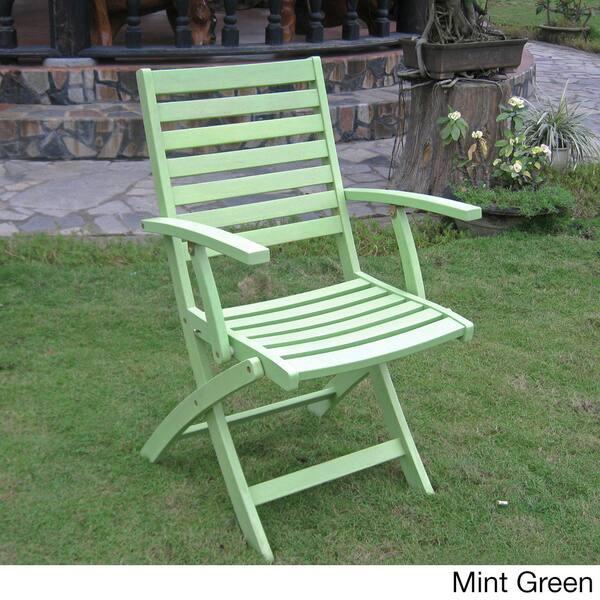 Super Shop Royal Fiji Acacia Folding Dining Chairs Set Of 2 On Evergreenethics Interior Chair Design Evergreenethicsorg
