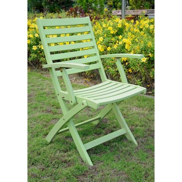 Remarkable Shop Royal Fiji Acacia Folding Dining Chairs Set Of 2 On Evergreenethics Interior Chair Design Evergreenethicsorg