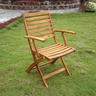 International Caravan Royal Fiji Patio Dining Chair (Set of 2)