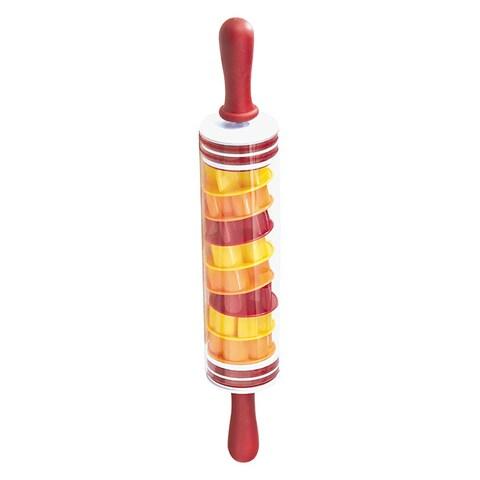 KitchenWorthy 10-piece Rolling Pin/ Cookie Cutter Set