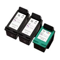 Sophia Global Remanufactured Ink Cartridge Replacement for HP 96 and HP 97 (Pack of 3)