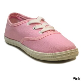 Blue Children's 'K-Riley' Pastel Canvas Sneakers (More options available)